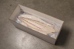 Caja de cartón para producto congelado