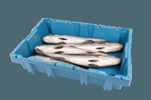 Caja de plástico retornable