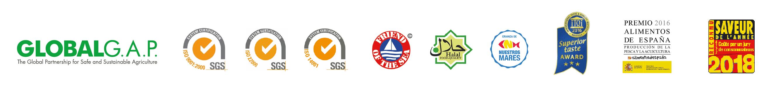 logos certificaciones
