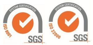 logos iso9001-22000