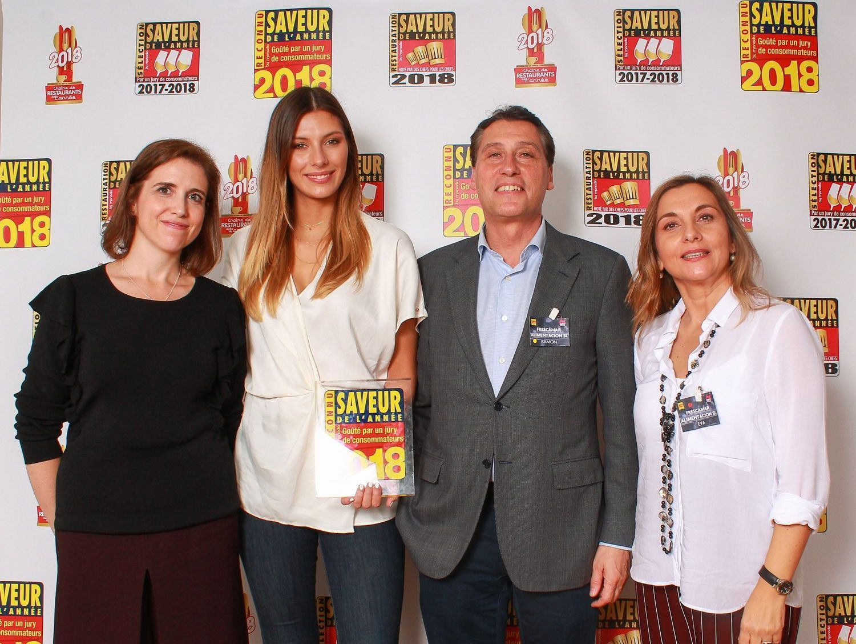 """Corvina REX recibe en Francia el """"Saveur de l'Année 2018"""""""