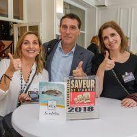 Responsables de Corvina REX Frescamar recogen el galardón Saveur de l´Année