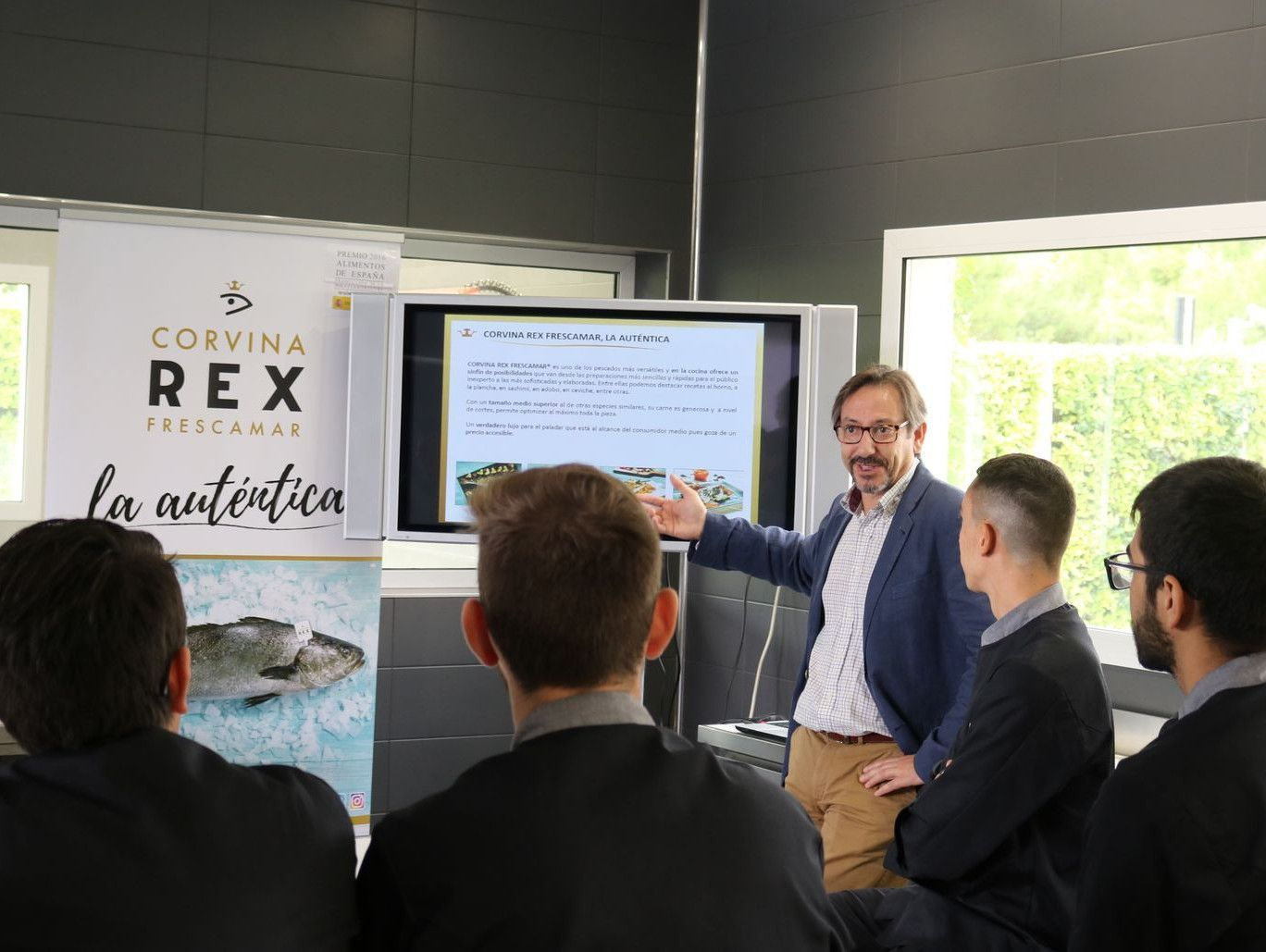 REX offers a masterclass at GASMA
