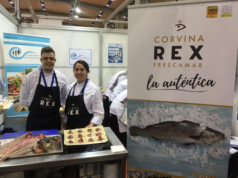 corvina REX en Gastrónoma 2017