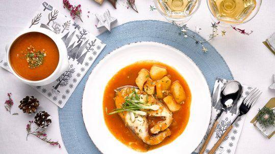 receta caldereta Corvina