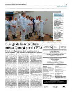 mision comercial Canadá Frescamar Corvina REX(Diario EL Mundo Castellón)