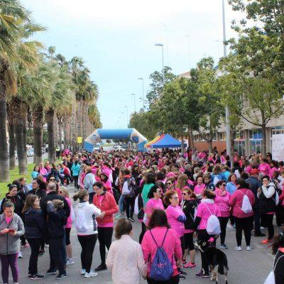 Representantes de Corvina REX Frescamar participaron en la Cursa de la Dona de Burriana
