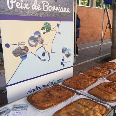 Empanadas de Corvina REX como avituallamiento en la Cursa de la Dona de Burriana
