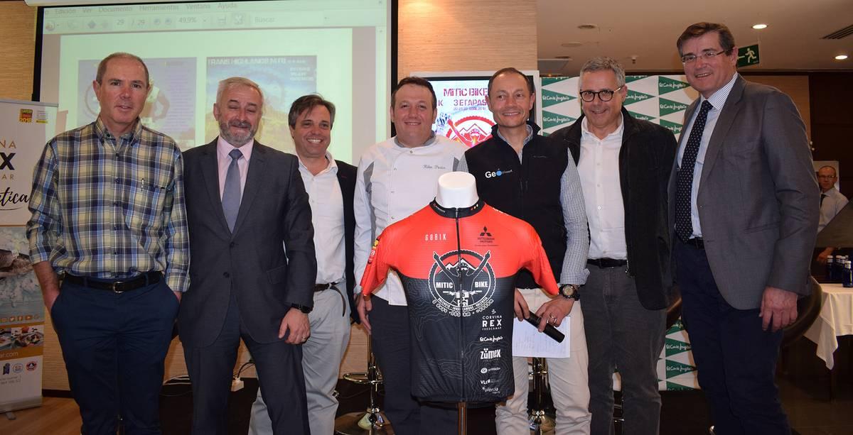 presentacion maillot oficial mitic bike esponsorizado por corvina rex
