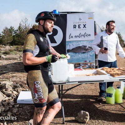 Corvina REX con el ciclismo de montaña