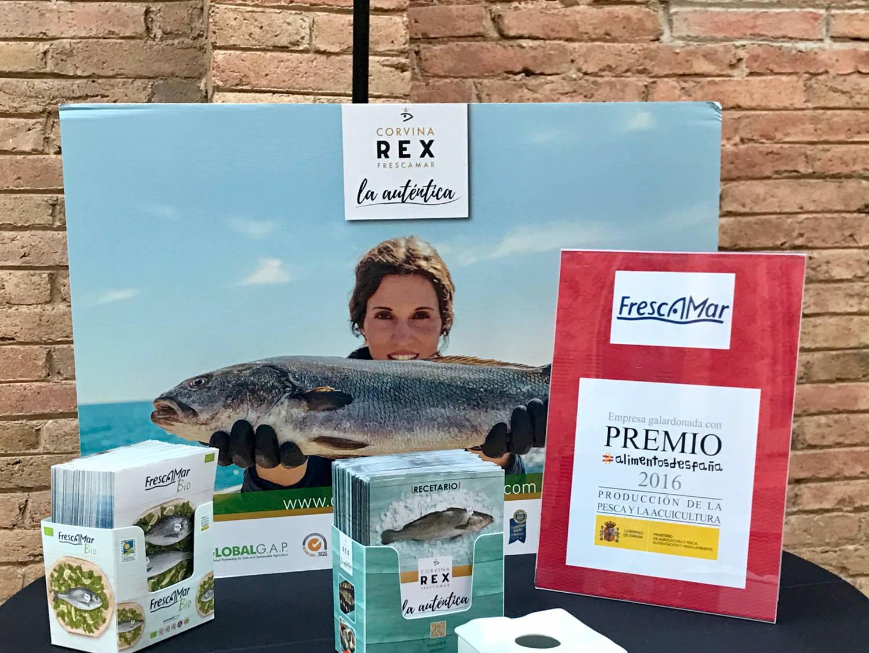 Frescamar Bio Rex Food&Drink Business Meetings Alimentaria Barcelona 2018