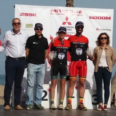 Ganadores masculino y femenino Mitic Bike