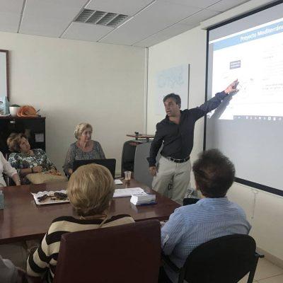 Amas de Casa Burriana con Tahiche Lacomba director general Frescamar