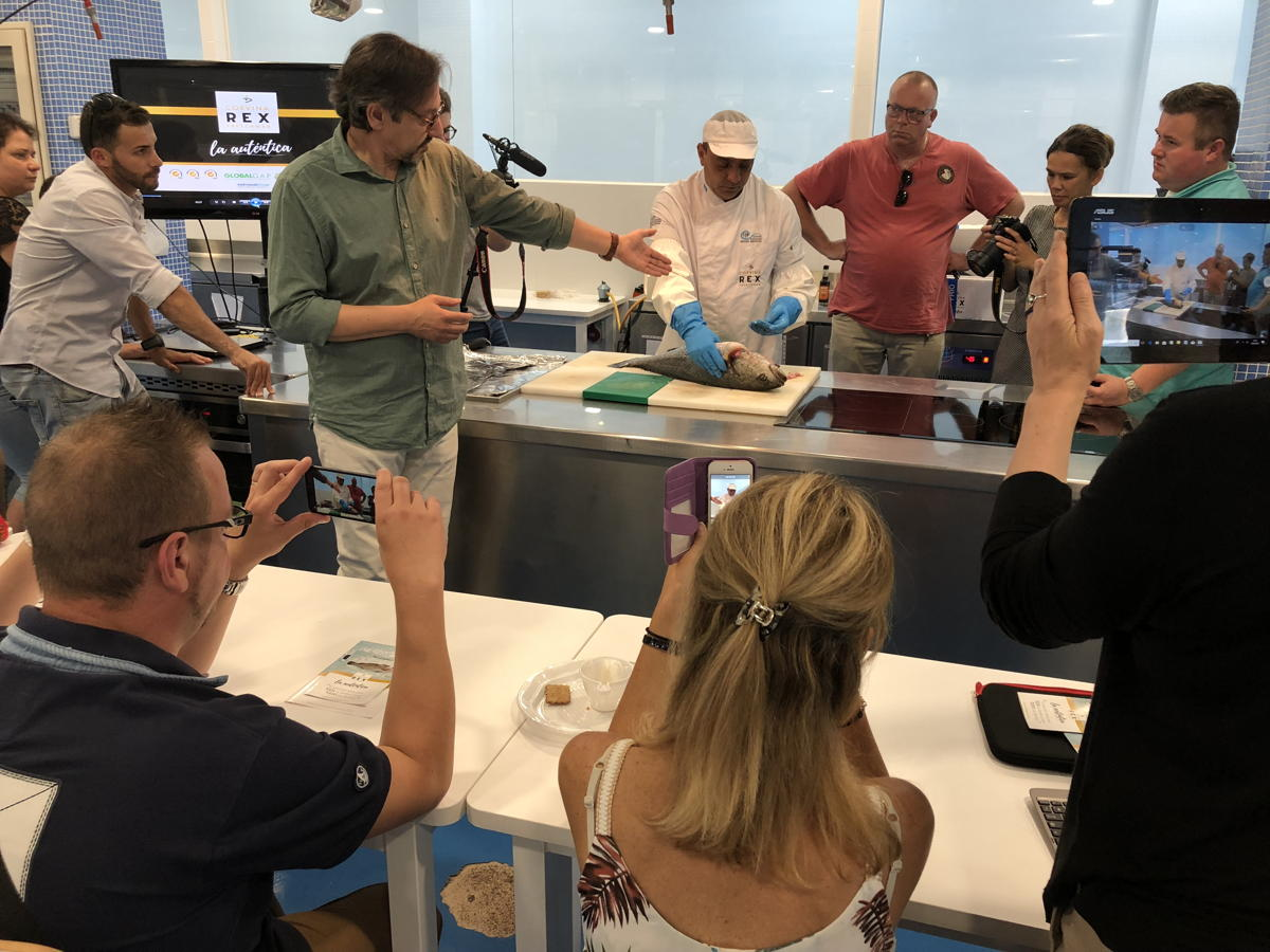 REX en CSHM para Cooking&Sea