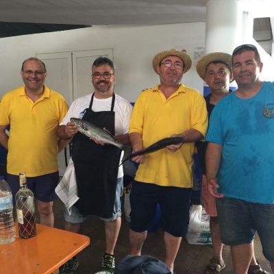 Participantes Caldero Cofradia Calp y piscifactoria Calp