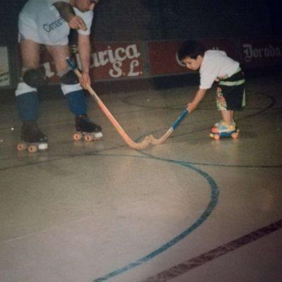 Dani Milian hockey