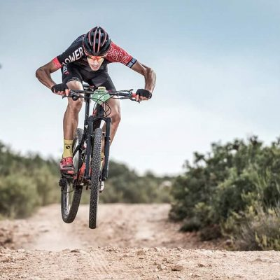 Patrocinio REX ciclismo montaña