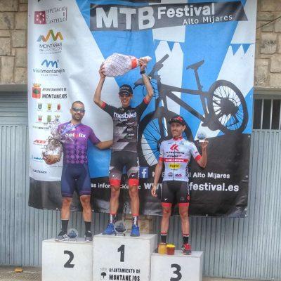primeros podiums Dani Milian