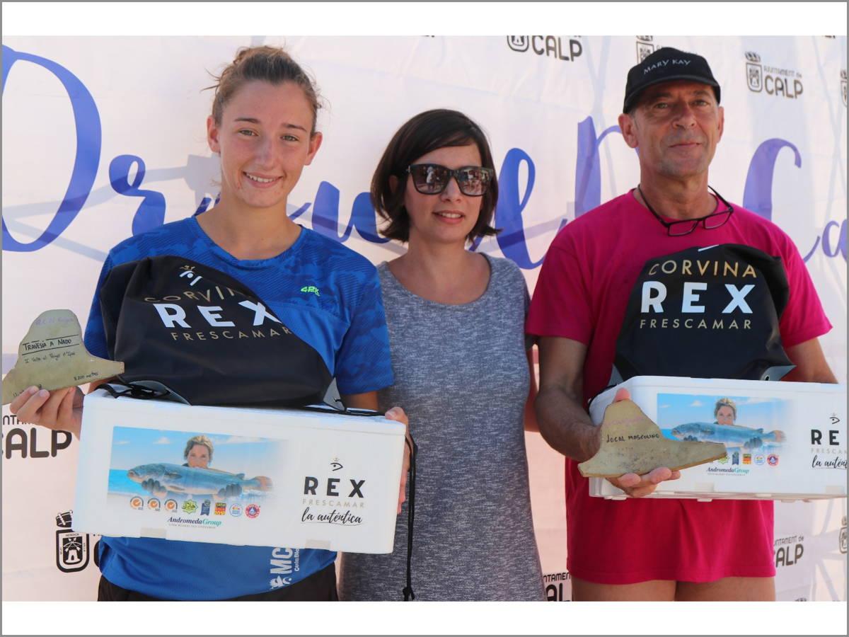 Corvina REX participa en la Volta al Peñon de Ifach