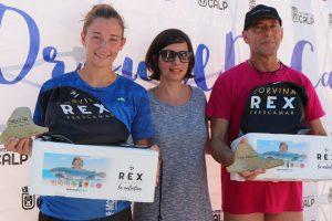 Ganadores locales de la Volta al Peñón de Ifach en la que colabora Corvina REX