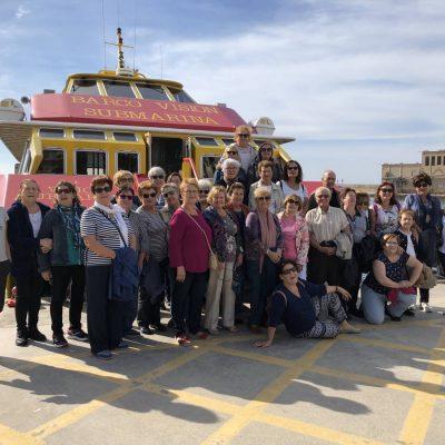 Grupo Amas de Casa de Calpe visita REX