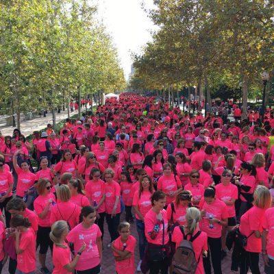 Participantes marcha solidaria Corvina REX