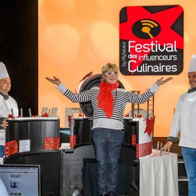Festival de Influencers Culinarios con Corvina REX