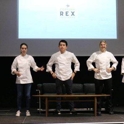 Alumnos GASMA presentacion Corvina REX