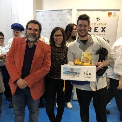 Adrian Tomas tercer Premio Recetas REX