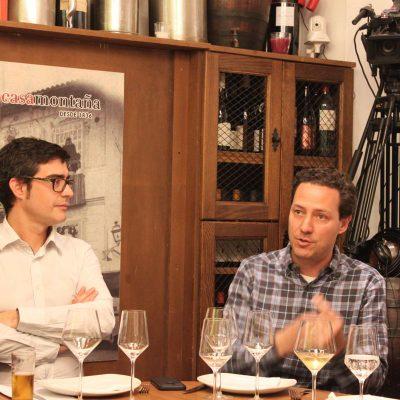 Alejandro Garcia de Casa Montana y Jordi Domingo de Fundación Global Nature