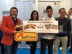 Andres Rengel ganador Concurso CSHM recetas Corvina REX