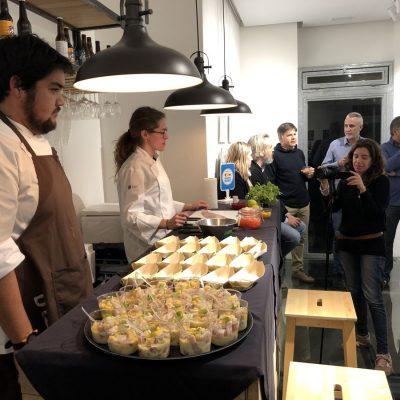 Colaboracion GASMA en cata REX & VITTORE