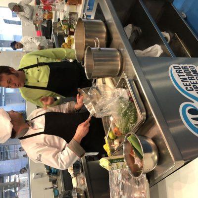 Kike Peris en cocinas CSHM