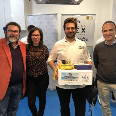 Lucas Hernandez segundo Premio Recetas REX