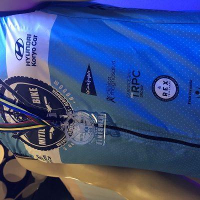 Chaleco oficial Mitic Bike con Corvina REX