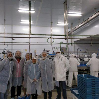 Visita planta procesado Corvina REX