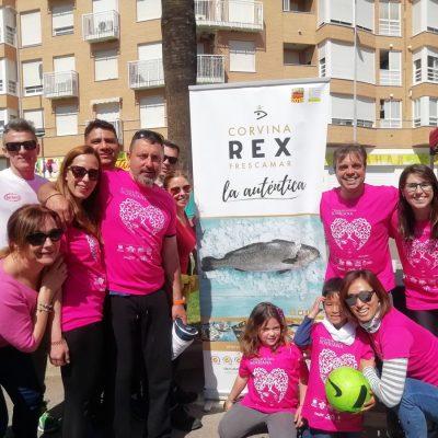 Corvina REX patrocina IV Cursa de la Dona de Burriana