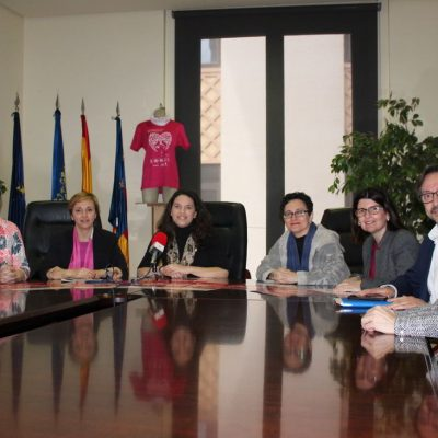 Presentacion IV edicion Cursa de la Dona con REX