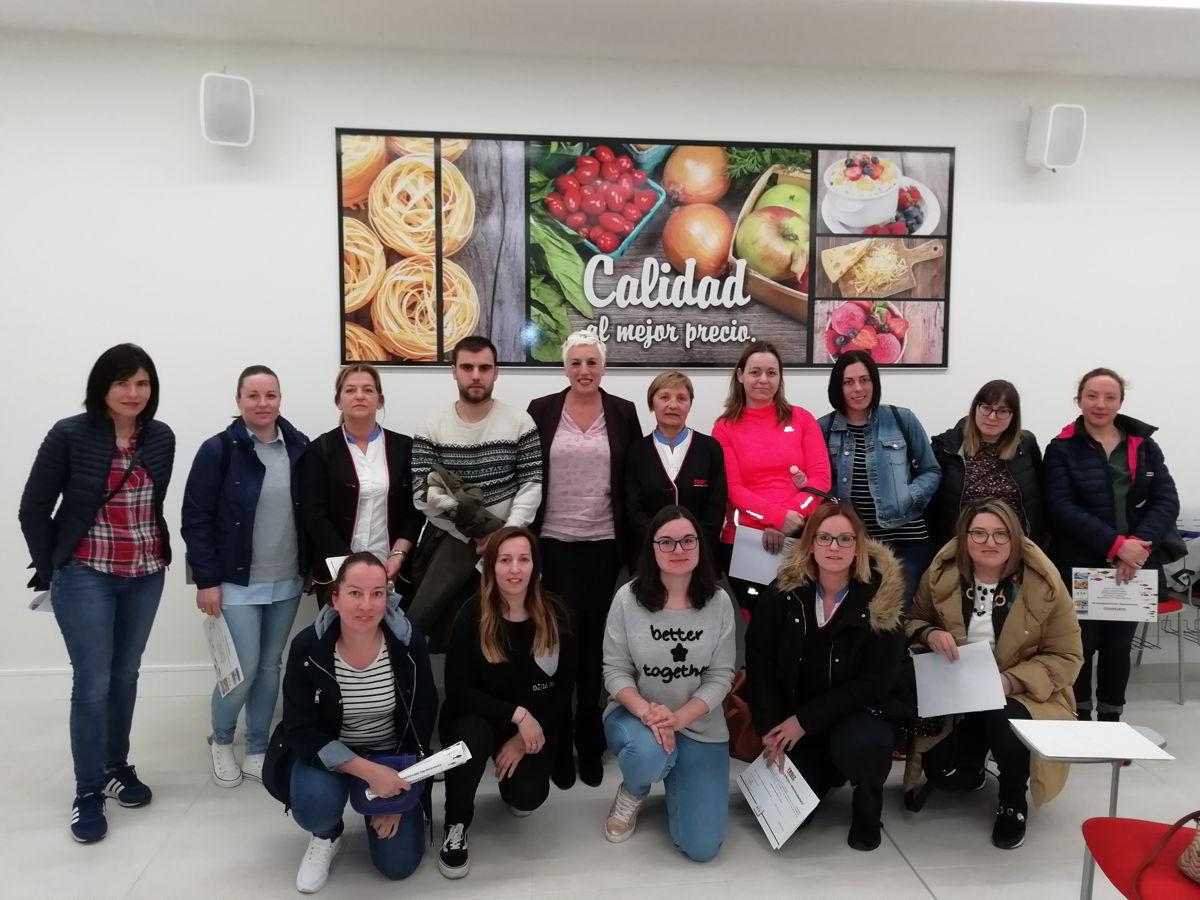 Profesionales de FROIZ con diploma taller Corvina REX