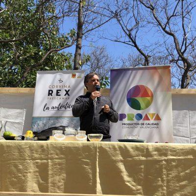 Showcooking REX en Mostra PROAVA