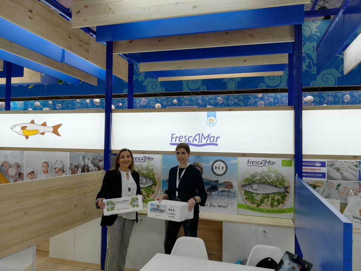 Corvina REX, Frescamar y Frescamar BIO se presentan en Seafood