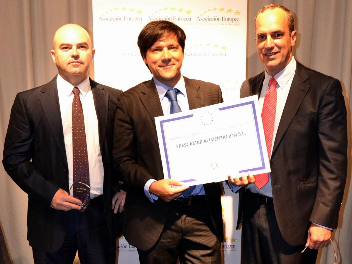 Premio europeo AEDEEC a FRESCAMAR