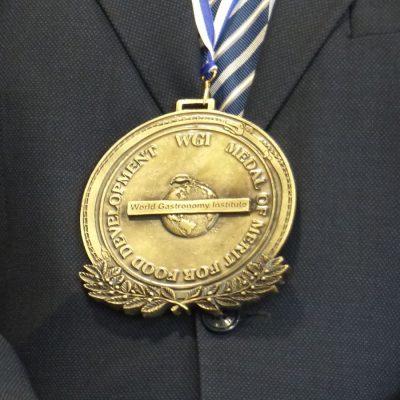 Detalle Medalla Roy Palmer