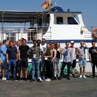 Estudiantes hosteleria Sterklas visitan Frescamar