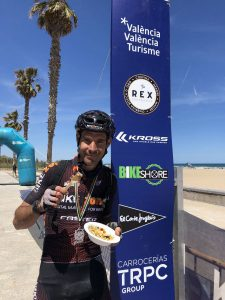 Joseba Leon ganador absoluto III Mitic Bike con Corvina REX