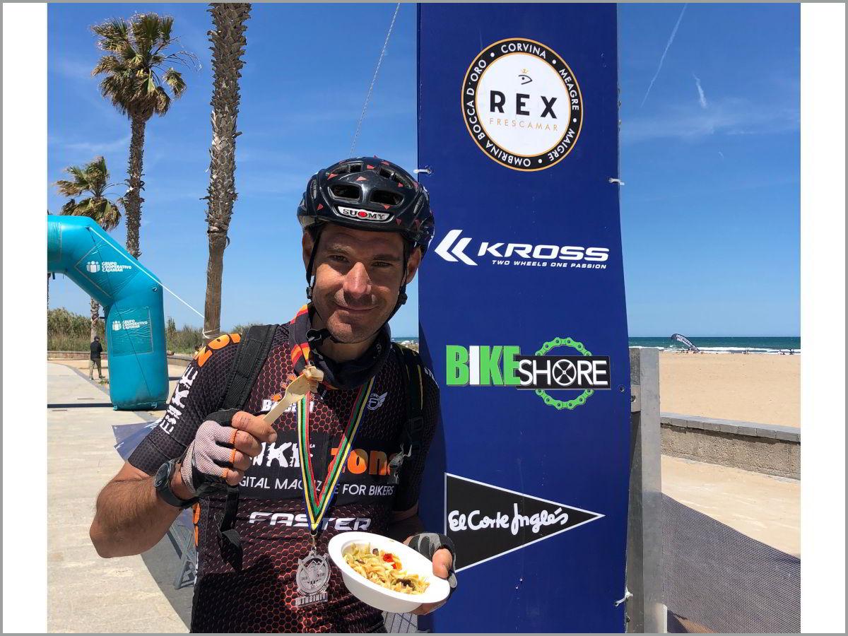 Joseba Leon ganador absoluto con Corvina REX