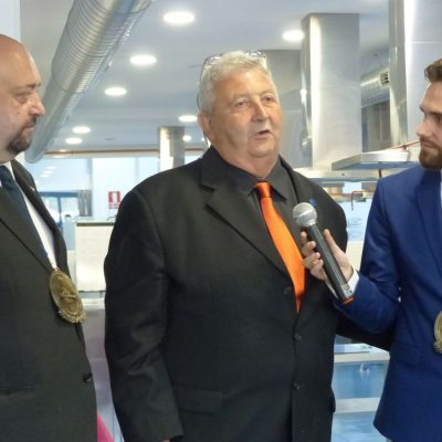 Medalla de Honor del World Gastronomy Institute a Roy Palmer