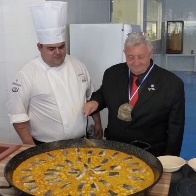 Roy Palmer en CSHM con Corvina REX
