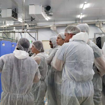 Visita planta procesado Corvina REX Sterklas y Jan Van As