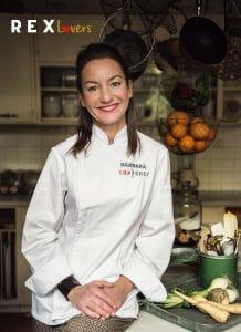 Barbara Amoros chef y estilista Corvina REX Top Chef